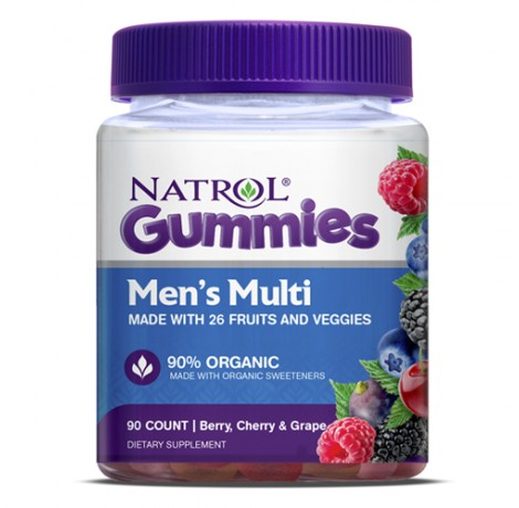 Natrol Men`s Multi Gummies / 90tabs.